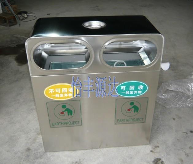 不锈钢垃圾桶3
